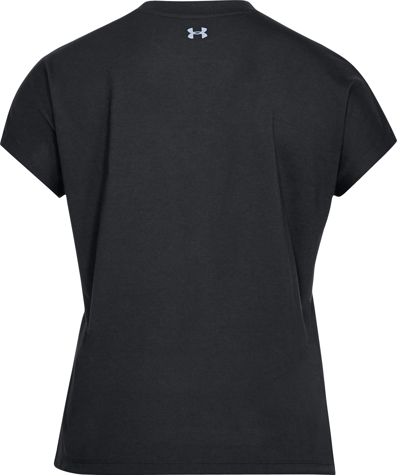 Women's UA Essentials Triangle T-Shirt, Black , undefined