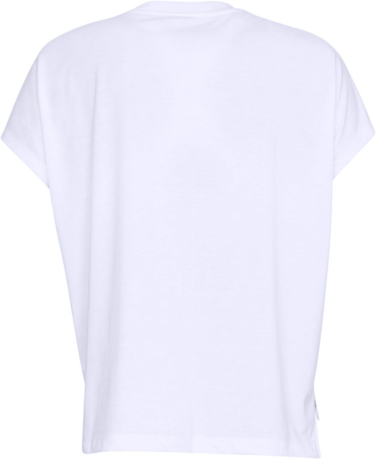 Women's UA Essentials Patchwork T-Shirt, White,
