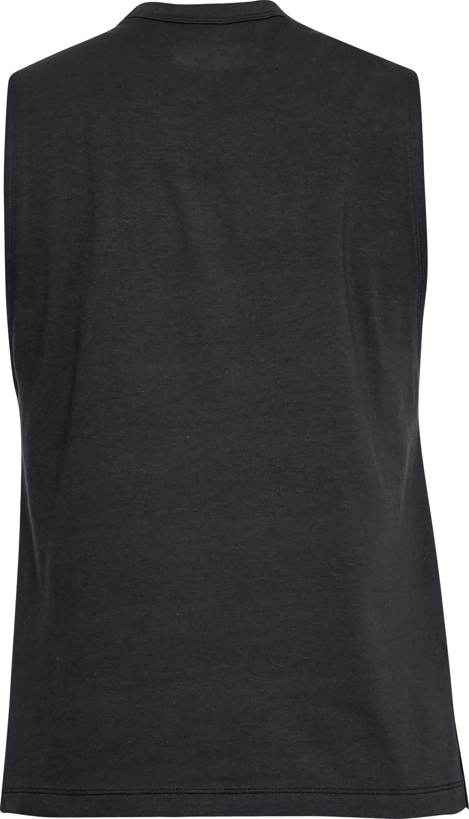 Women's UA Linear Wordmark Muscle Tank, Black ,