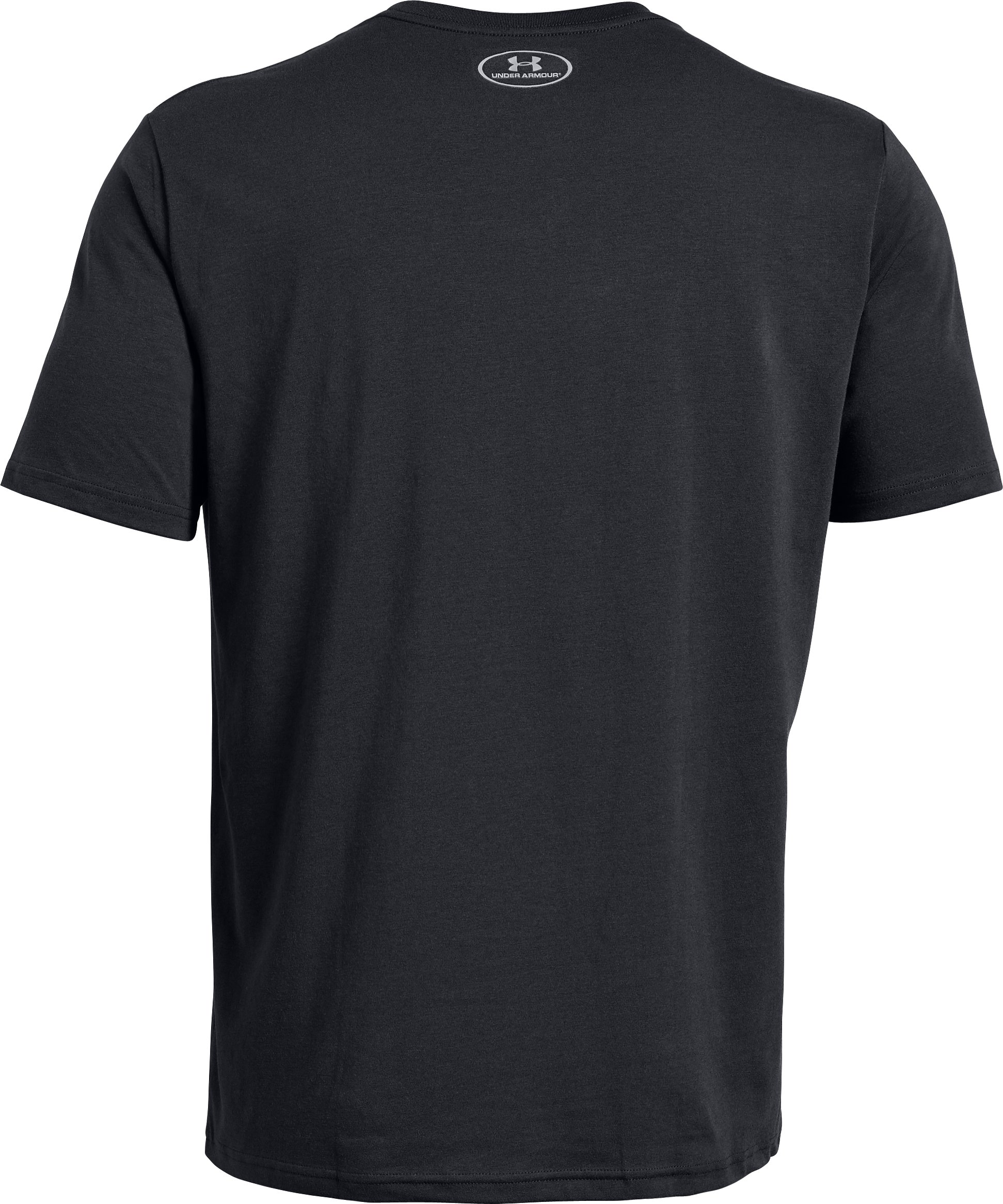 Men's UA Football Logo T-Shirt, Black ,