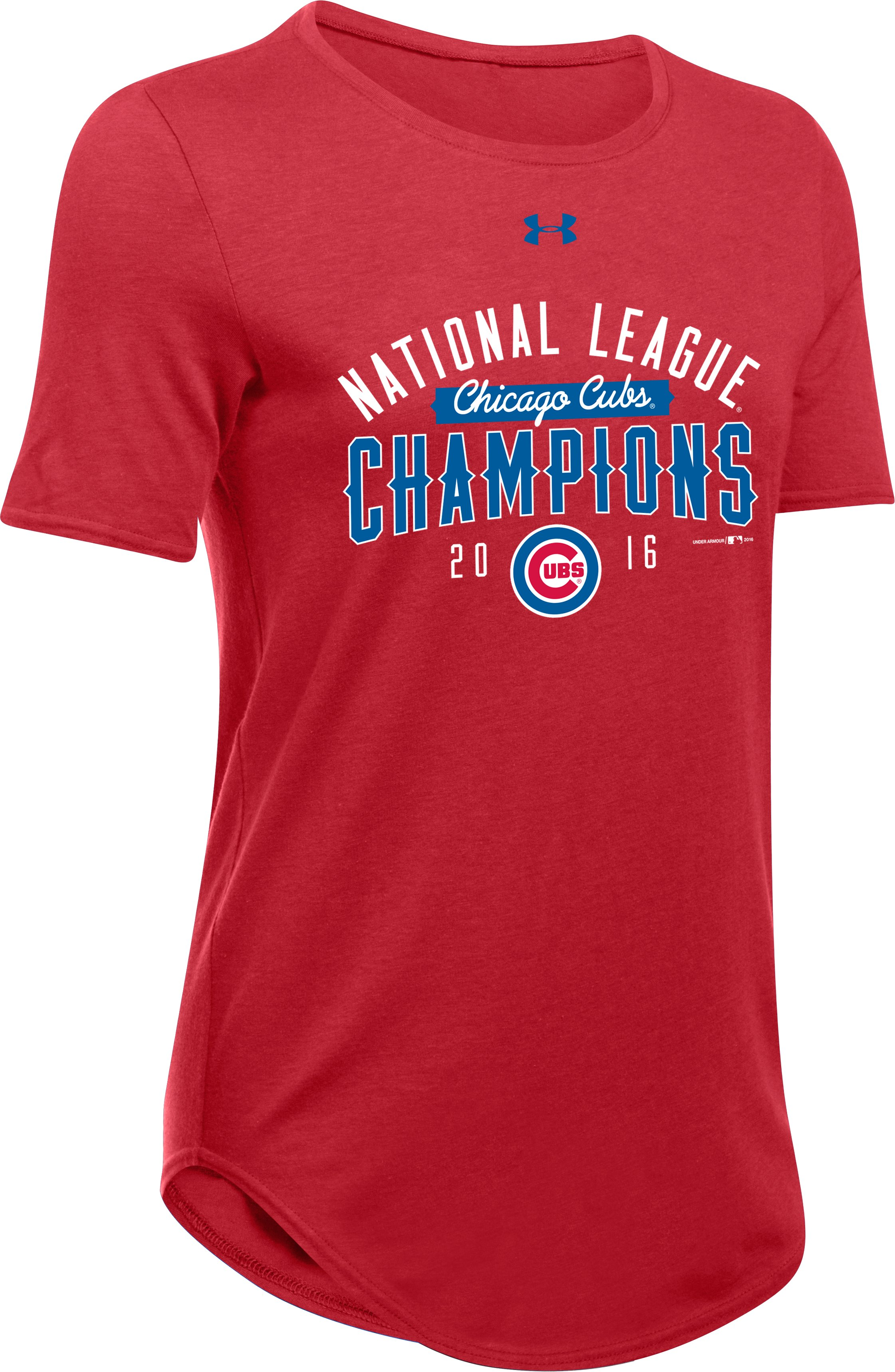 Women's Chicago Cubs NL Champ T-Shirt , Red
