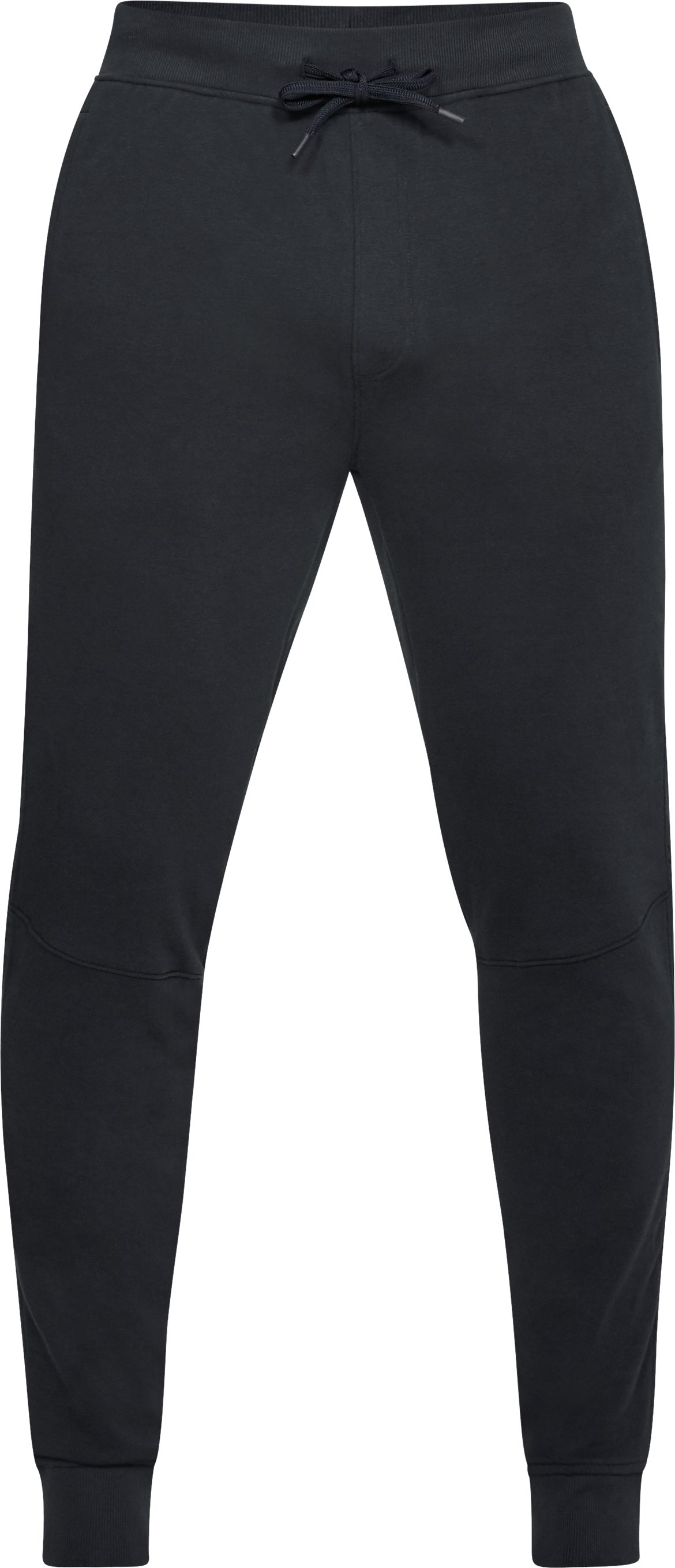 Men's UA Microthread Terry Joggers, Black ,