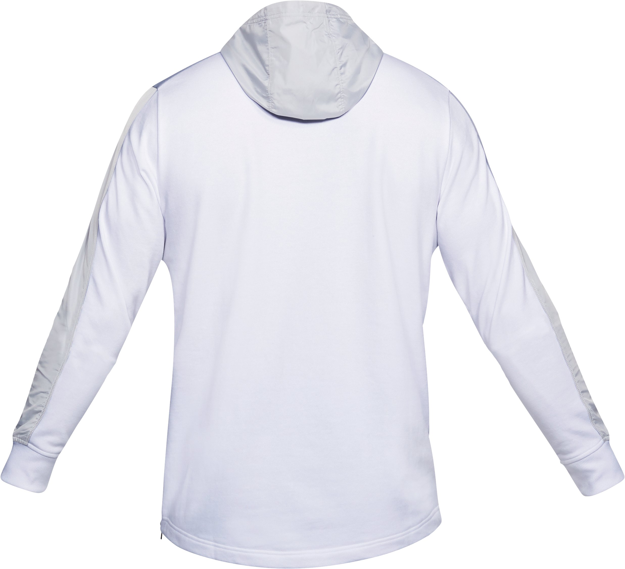 Men's UA Microthread Terry Hoodie, White, undefined