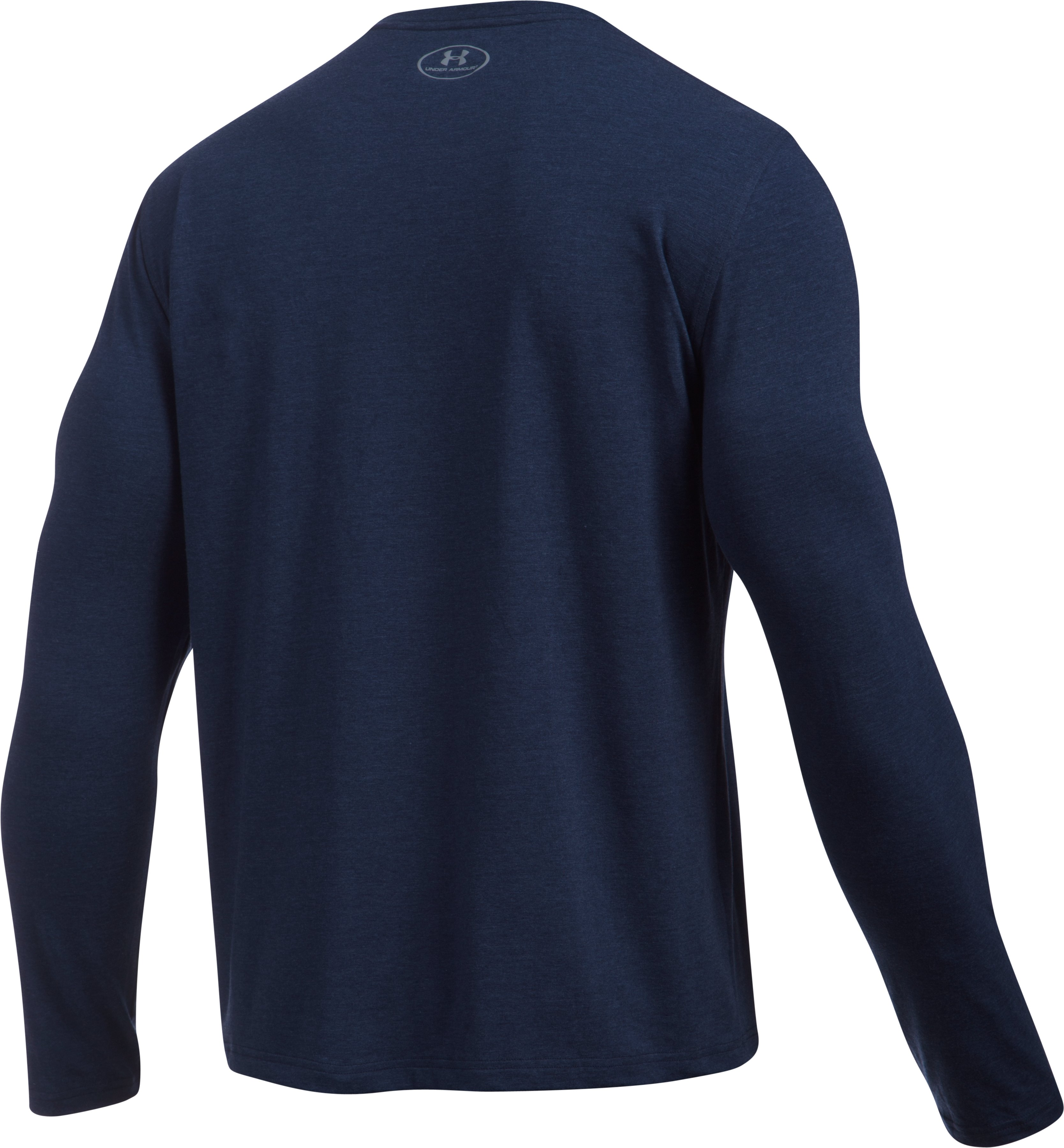 Men's UA Stratosphere Long Sleeve T-Shirt, Midnight Navy,