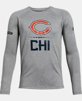 Boys' NFL Combine Authentic UA Tech™ Lockup Long Sleeve T-Shirt  1  Color Available $24.5