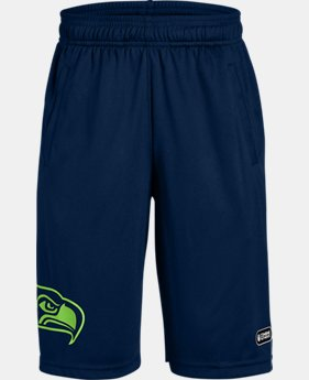 New Arrival Boys' NFL Combine Authentic UA Intimidator Shorts  1  Color Available $40