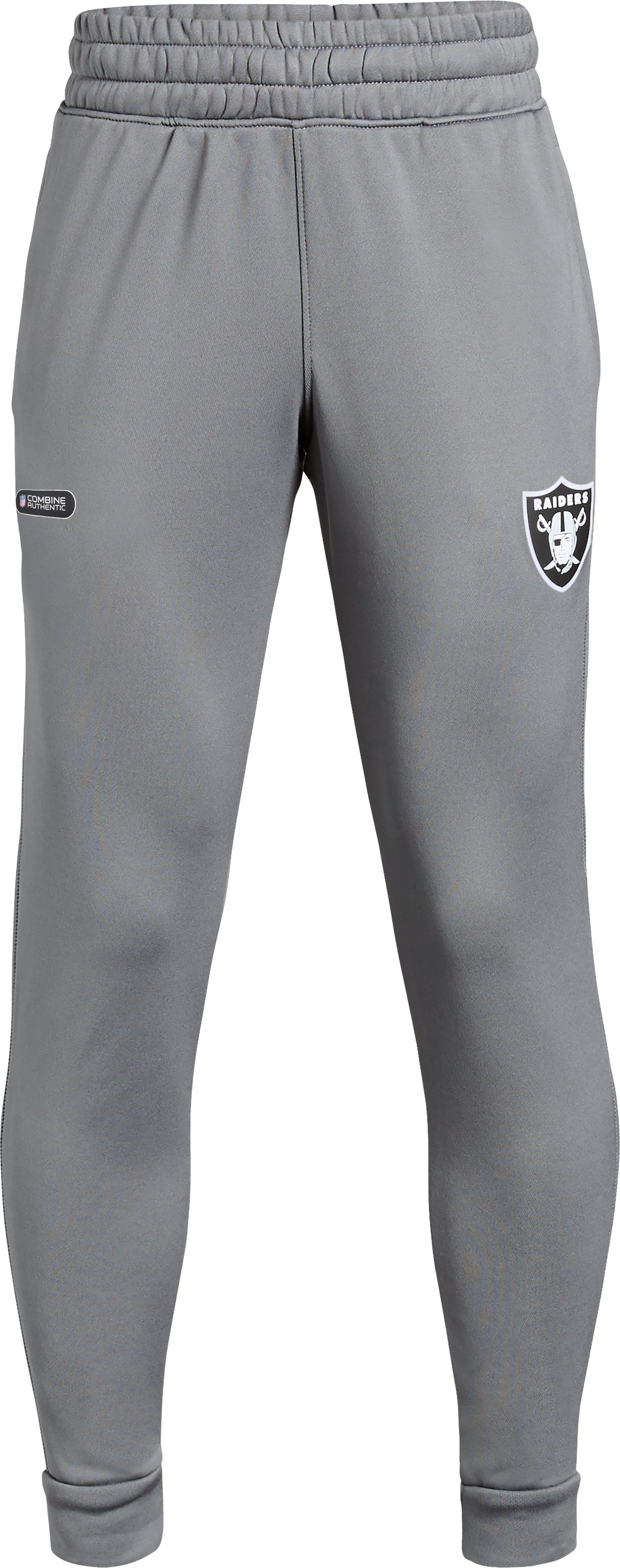 Boys' NFL Combine Authentic UA Tech™ Terry Joggers, NFL_Oakland Raiders_Graphite