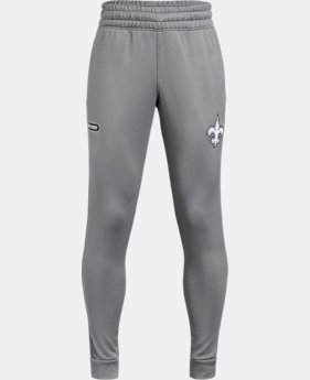 New Arrival Boys' NFL Combine Authentic UA Tech™ Terry Joggers  1  Color Available $50