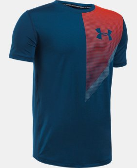Boys' HeatGear® Training T-Shirt  1 Color $13.99 to $18.99