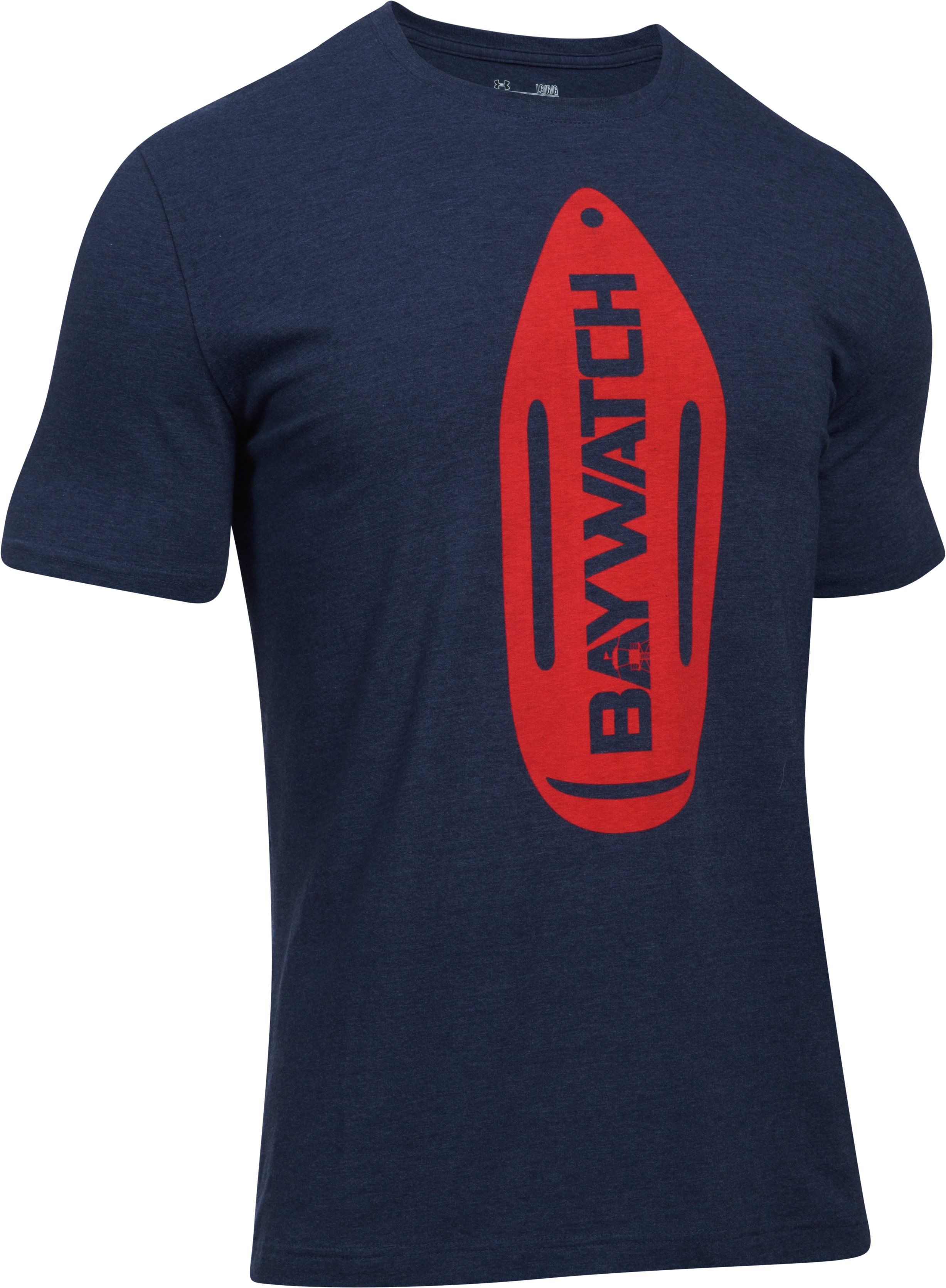 Men's UA Baywatch Rescue Buoy T-Shirt , Midnight Navy,