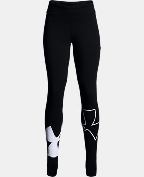 New Arrival  Girls' UA Favorite Knit Leggings LIMITED TIME: FREE SHIPPING  $40