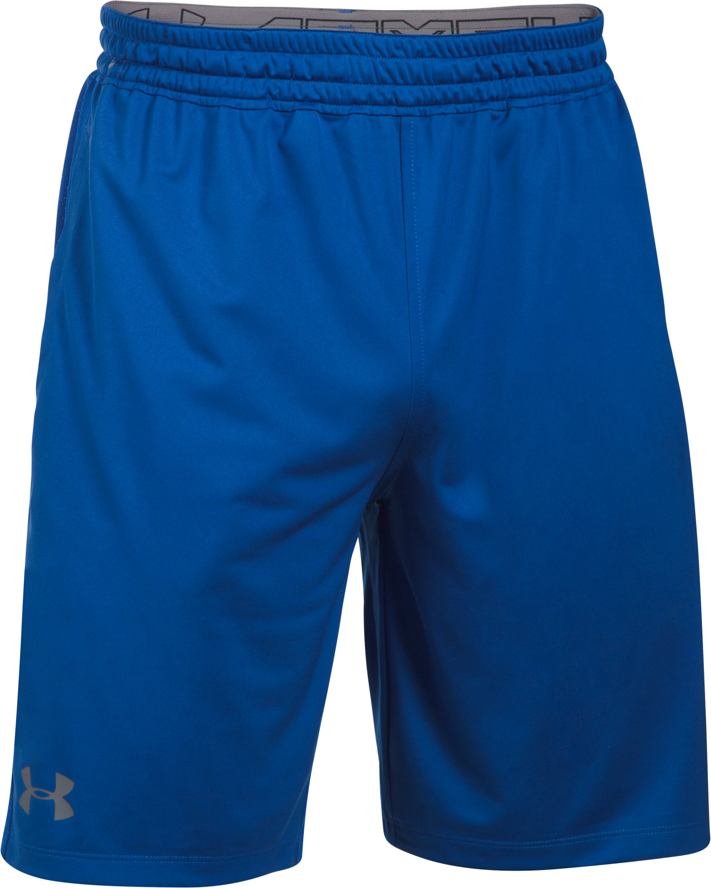 Men's HeatGear® Training Shorts, Royal, undefined