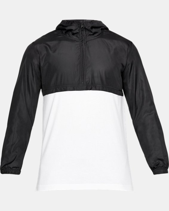 Anorak UA Sportstyle Wind pour homme, White, pdpMainDesktop image number 5
