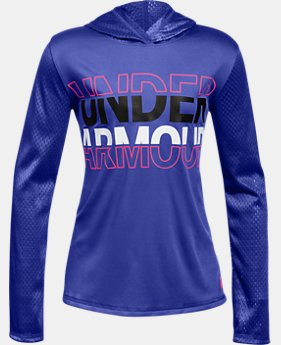 Girls UA Tech™ Varsity Hoodie  1  Color Available $30