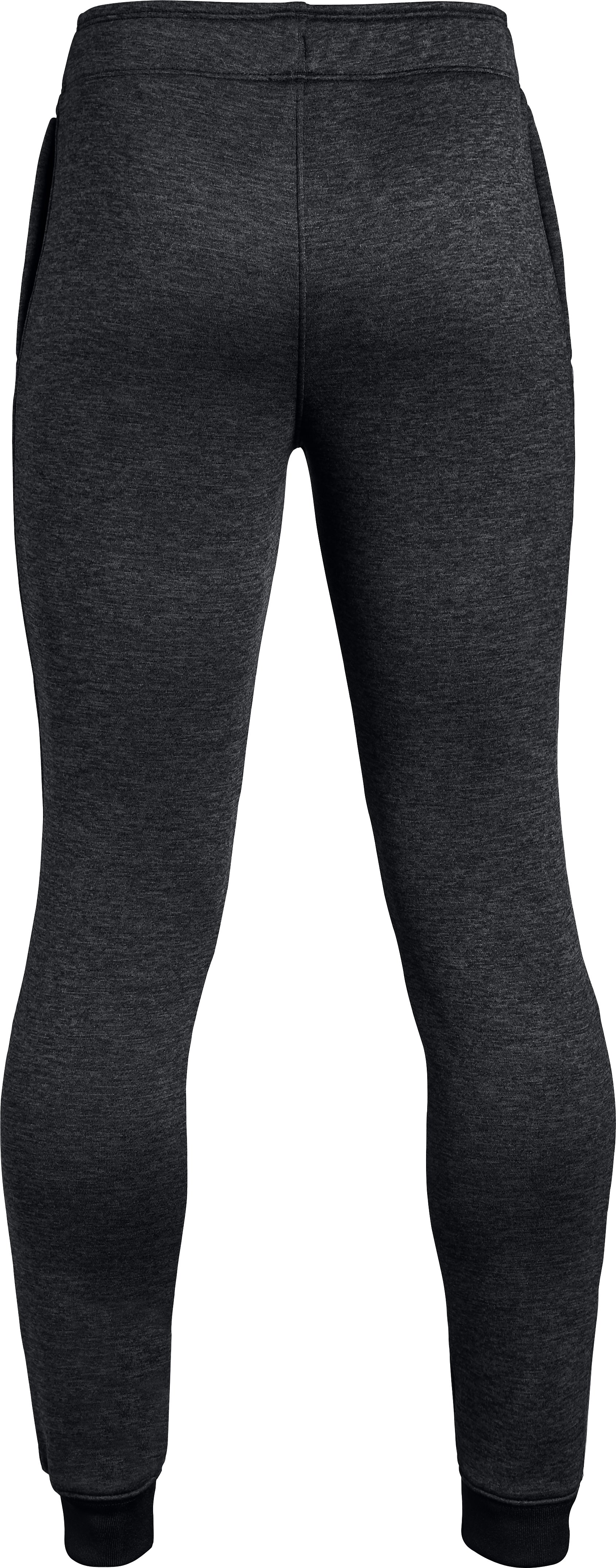 Girls' UA Teamwork Terry Joggers, BLACK FADE HEATHER,