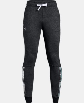 Girls' UA Teamwork Terry Joggers  1  Color $45