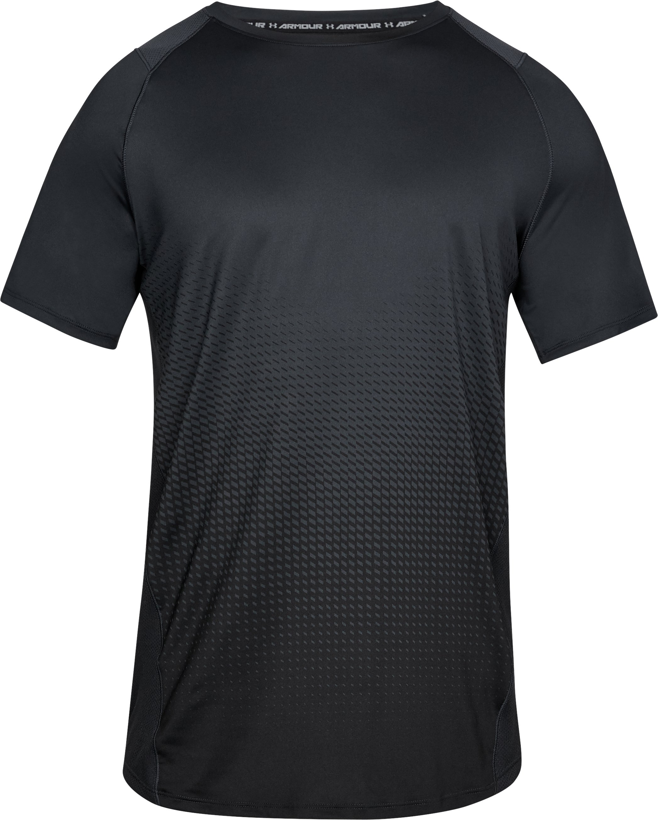 Men's UA MK-1 Dash Fade Short Sleeve, ANTHRACITE,