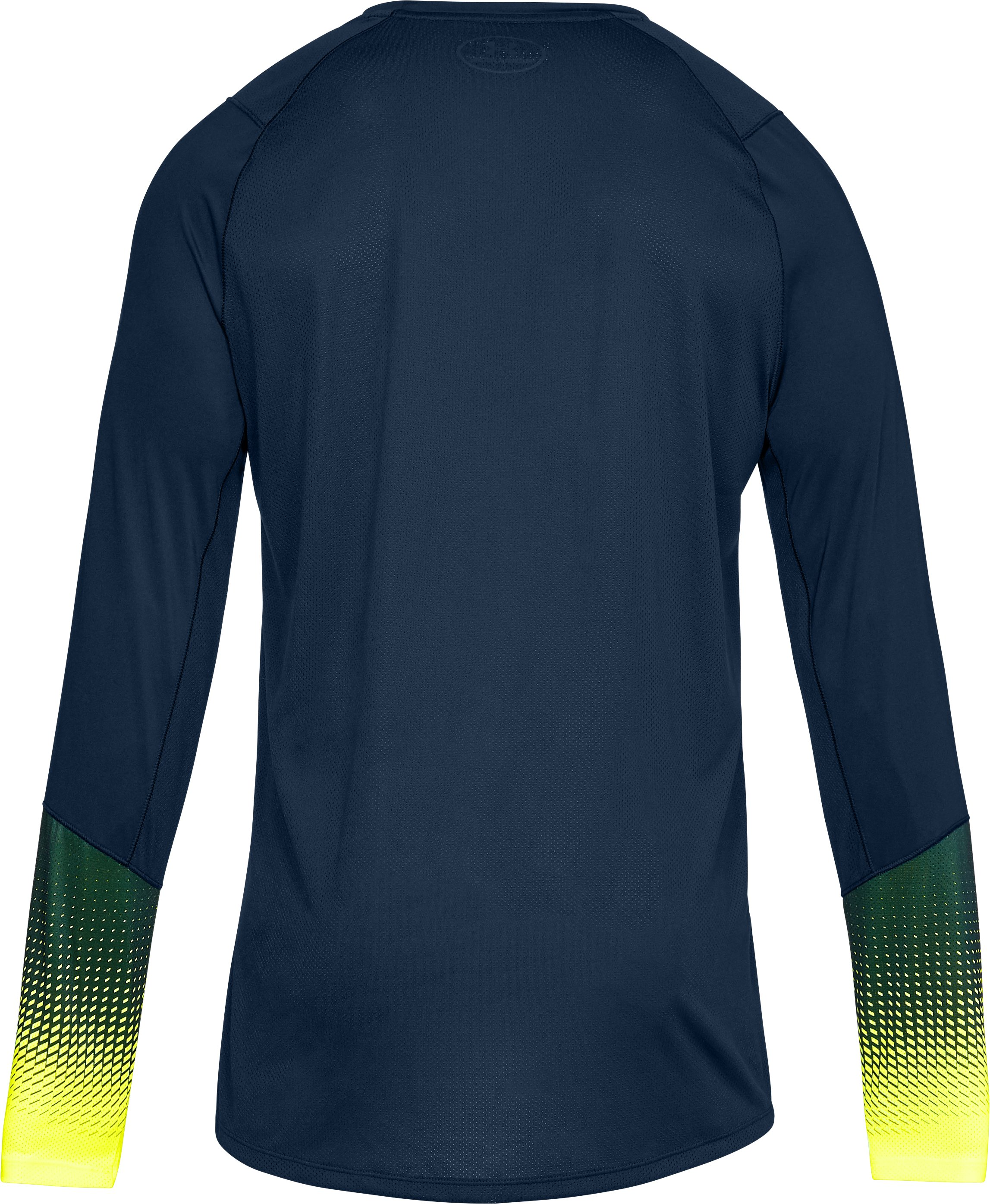 Men's UA MK-1 Long Sleeve Graphic, Academy,