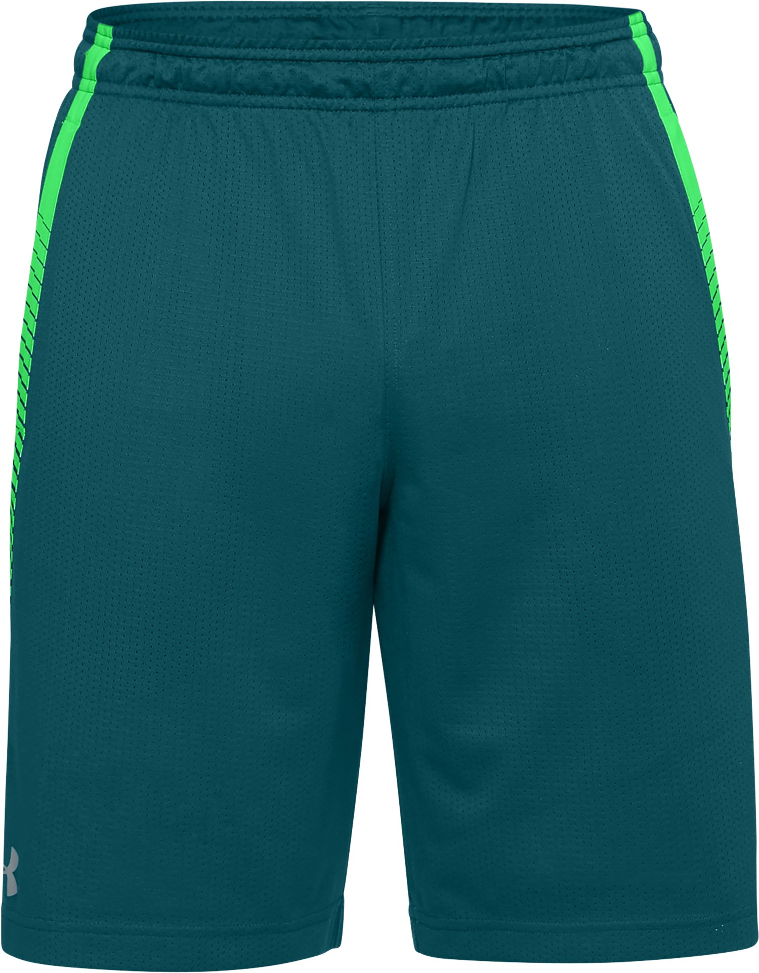 Men's UA Tech™ Mesh Shorts Graphic, TOURMALINE TEAL,