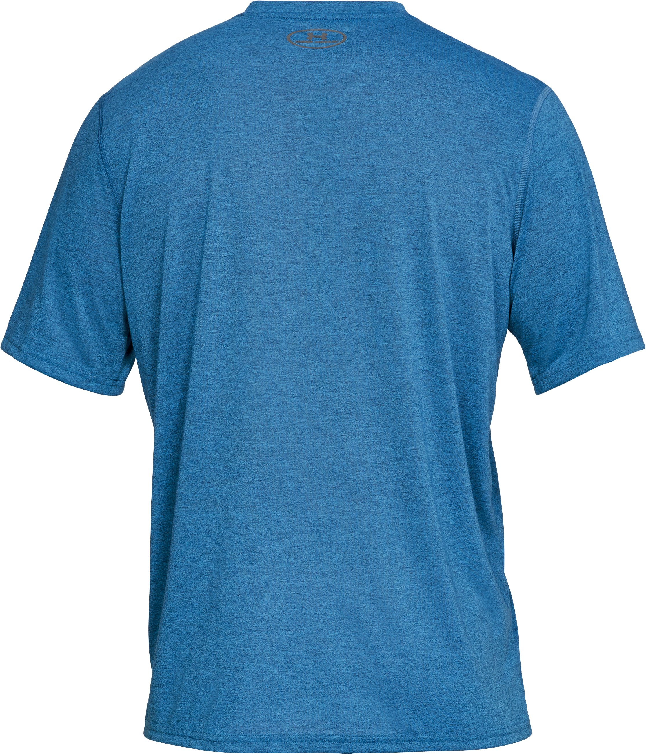 Men's UA Siro Heathered V-neck, Academy,