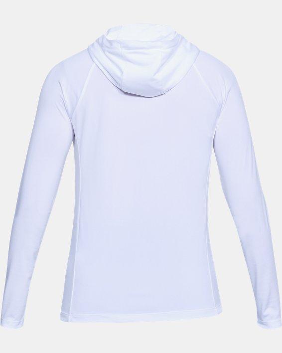 Women's UA Tech™ Hoodie, White, pdpMainDesktop image number 4
