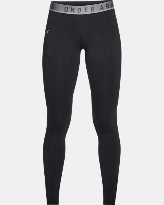 Women's UA Favorite Leggings, Black, pdpMainDesktop image number 3
