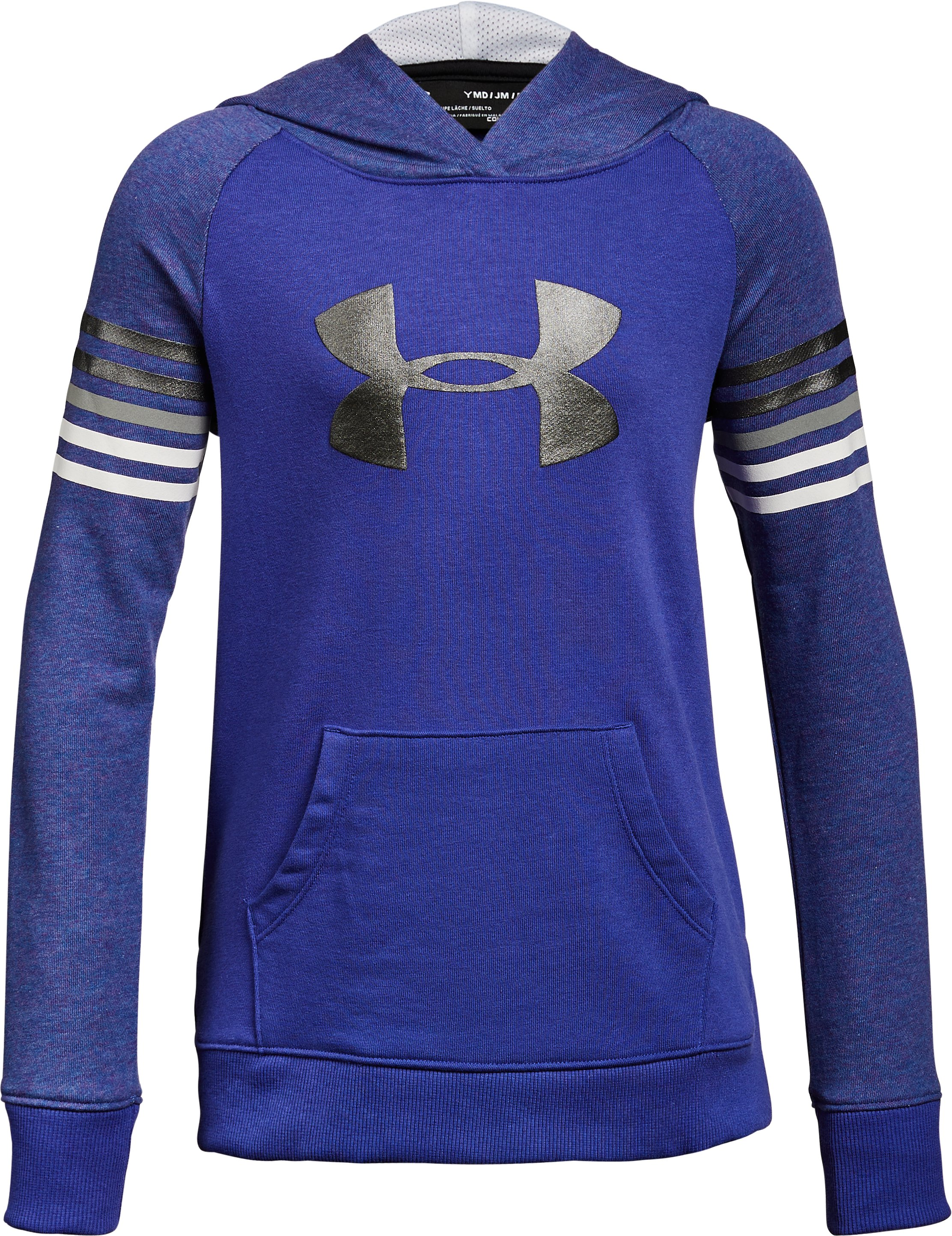 Girls' UA Favorite Terry Hoodie, CONSTELLATION PURPLE,
