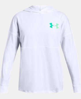 Girls' UA Finale Hoodie  1  Color Available $35