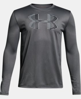 New Arrival Boys' UA Tech™ Big Logo Long Sleeve  1 Color $25