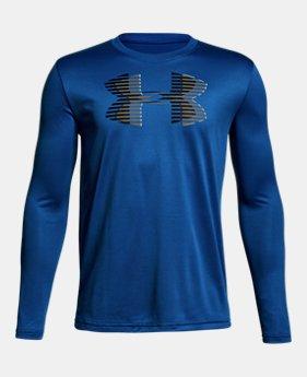 Boys  UA Tech™ Big Logo Long Sleeve 2 Colors Available  18.99 7cdeb76e7a0b6