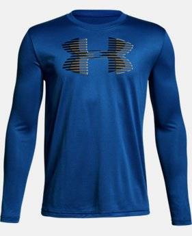 Boys' UA Tech™ Big Logo Long Sleeve  1 Color $25