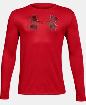 New Arrival Boys' UA Tech™ Big Logo Long Sleeve  2 Colors $25