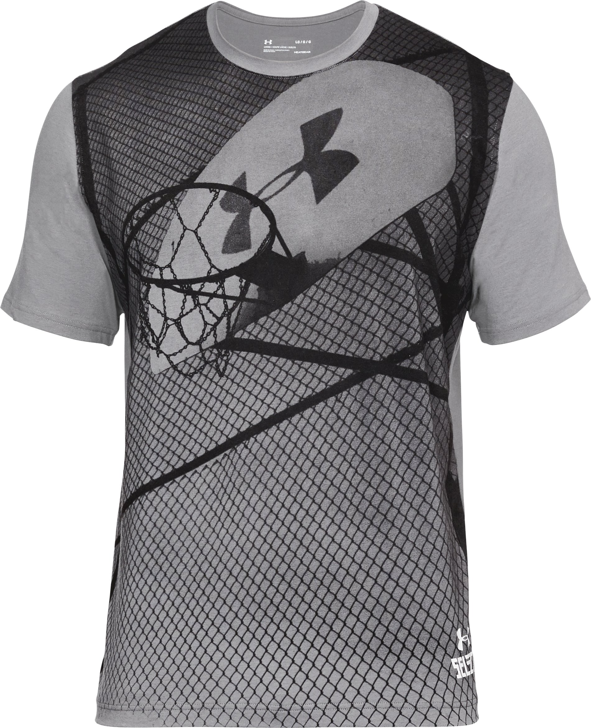 Men's UA BBall Select T-Shirt, Graphite,