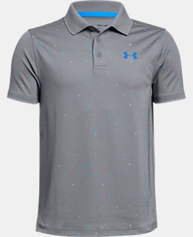 Boys' UA Performance Polo Novelty  2  Colors Available $35