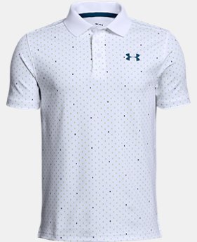 New Arrival Boys' UA Performance Polo Novelty  5  Colors $35