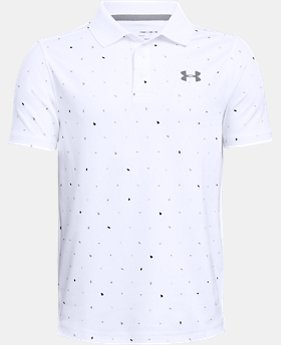 Boys' UA Performance Polo Novelty  1  Color Available $40
