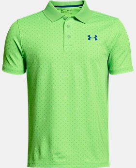 New Arrival Boys' UA Performance Polo Novelty  1 Color $35