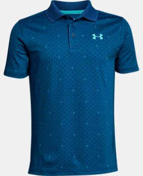 Boys' UA Performance Polo Novelty FREE U.S. SHIPPING 5  Colors Available $35