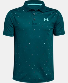Boys' UA Performance Polo Novelty  2  Colors Available $40