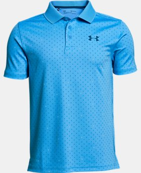 Boys' UA Performance Polo Novelty  1  Color Available $35