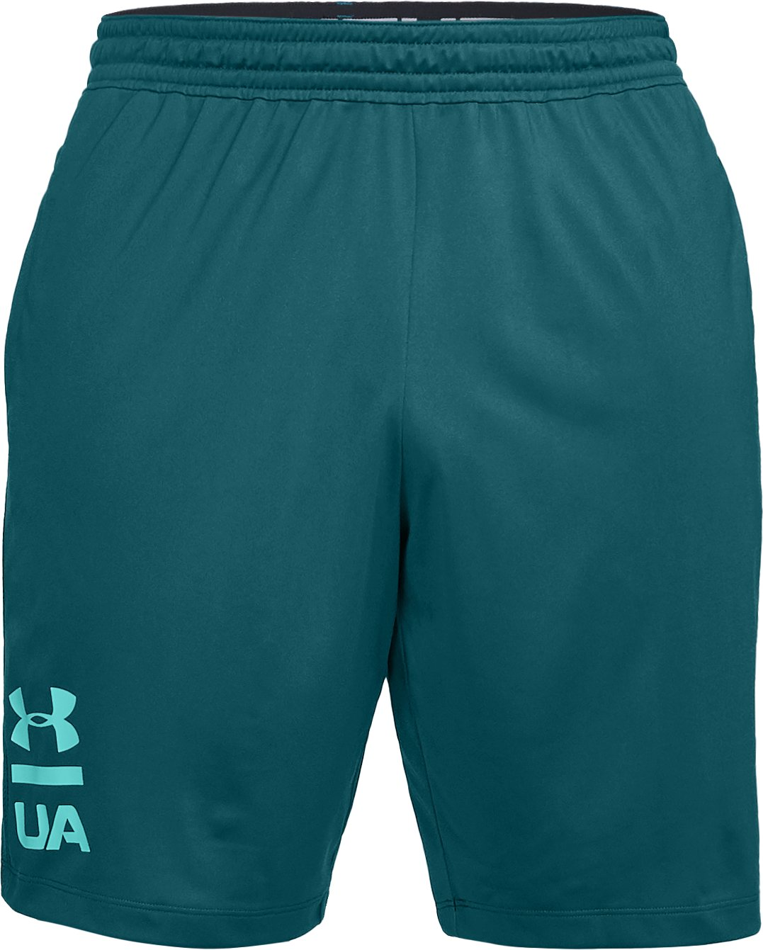 Men's UA MK-1 Graphic Shorts, TOURMALINE TEAL,