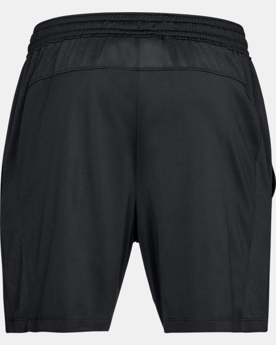 "Men's UA MK-1 7"" Shorts, Black, pdpMainDesktop image number 4"