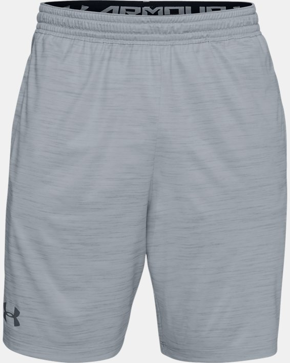 Men's UA MK-1 Twist Shorts, Gray, pdpMainDesktop image number 3