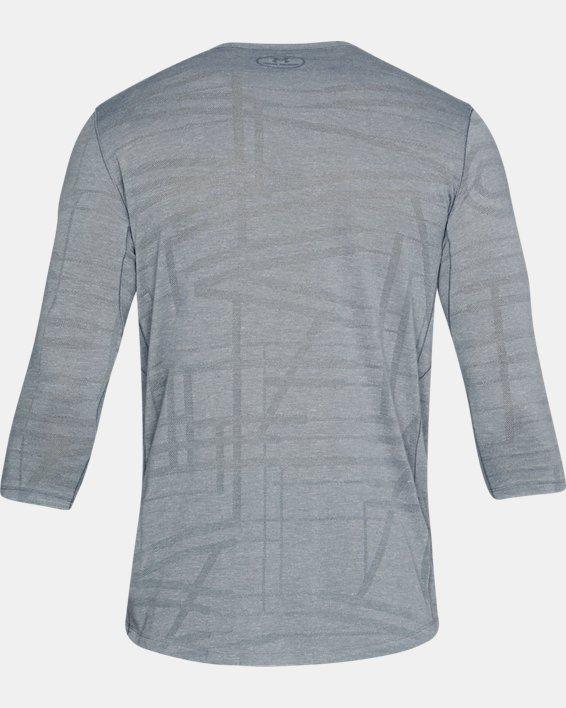 Men's UA ¾ Utility T-Shirt, Gray, pdpMainDesktop image number 4
