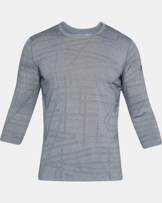 Men's UA ¾ Utility T-Shirt, Gray, pdpMainDesktop image number 3