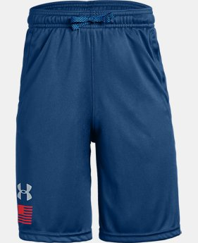 New Arrival Boys' UA USA Shorts LIMITED TIME: FREE U.S. SHIPPING 1  Color Available $30