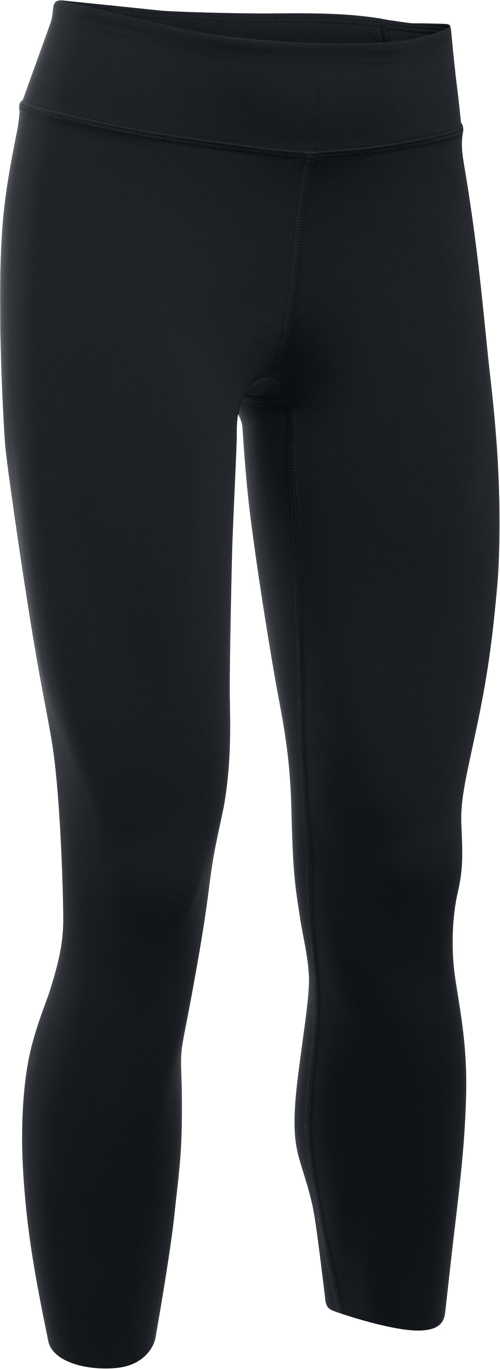 Women's UA Mirror Breathelux Crop, Black ,