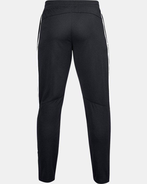 Men's UA Sportstyle Pique Pants, Black, pdpMainDesktop image number 4