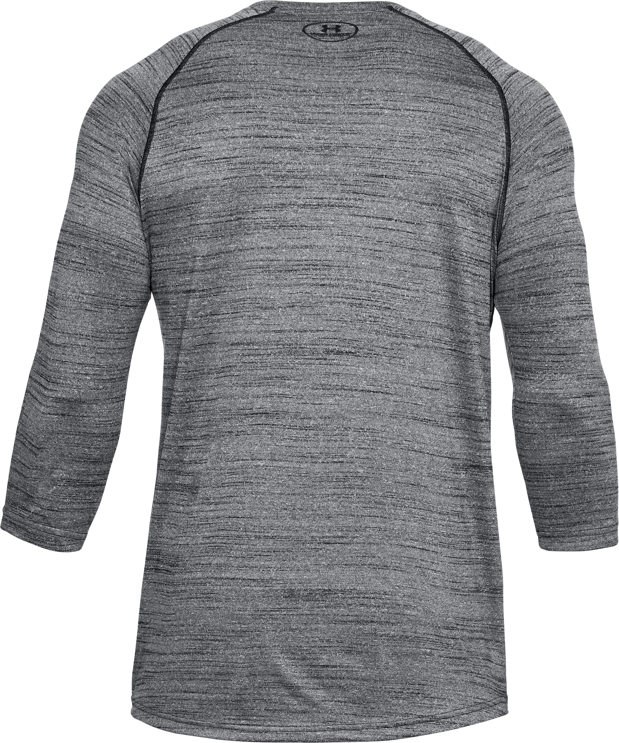 Men's UA x Project Rock ¾ Utility T-Shirt, Black ,