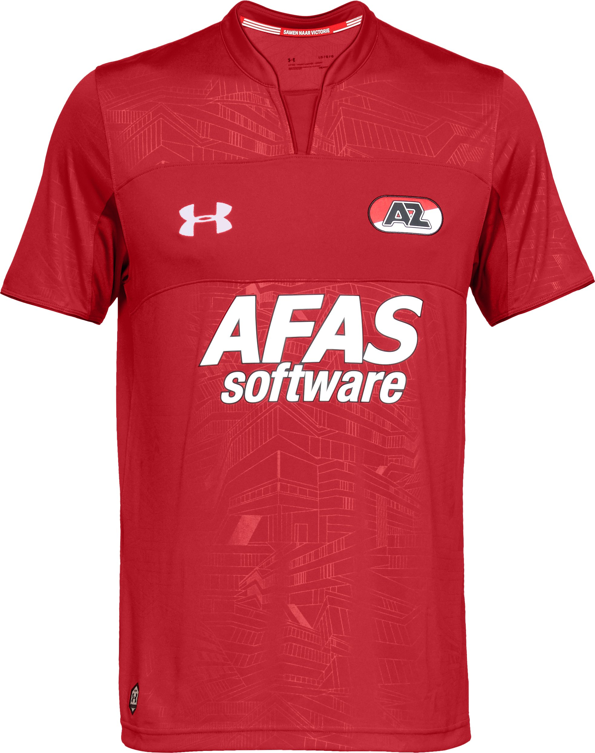 Men's AZ Alkmaar Replica Jersey, Red,